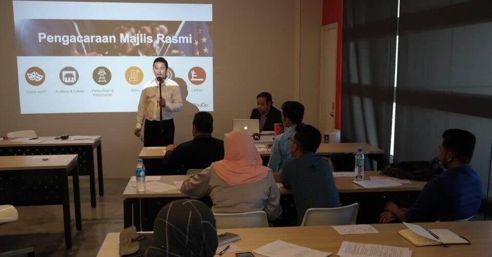 Workshop Pengacaraan Bersama Halim Othman Sesi September 2016