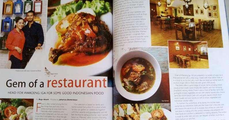 Waroeng Iga – Gem of a Restaurant