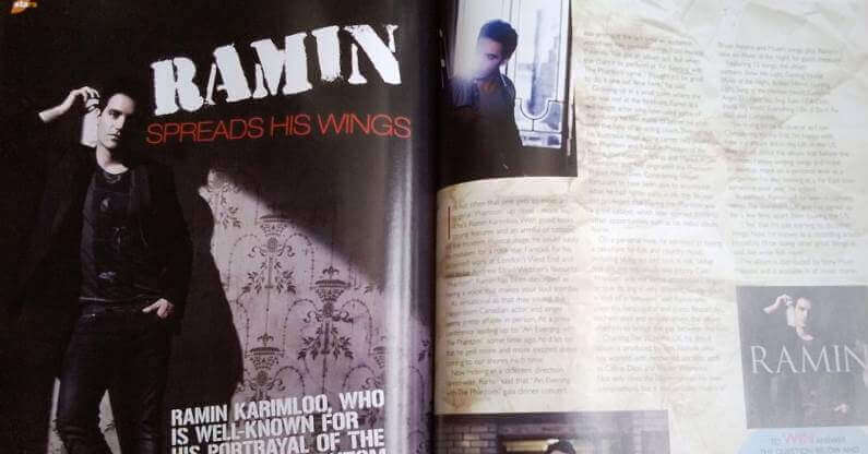 Ramin Spreads His Wings