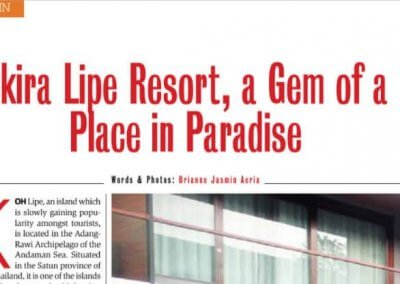 Akira Lipe Resort – Gem of a Place