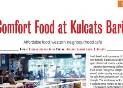 Comfort Foods at Kulcat Bario