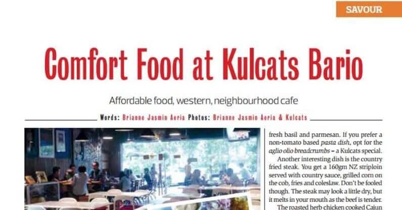 Comfort Foods at Kulcat Bario