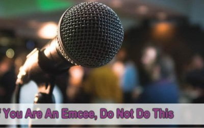 If You're An Emcee, Don't Do This!