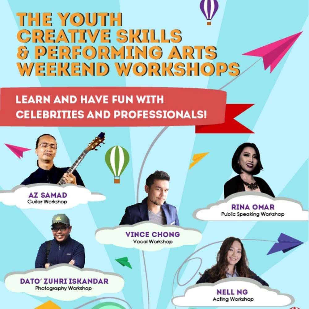 Youth Creative Skills Workshops 1000x1000
