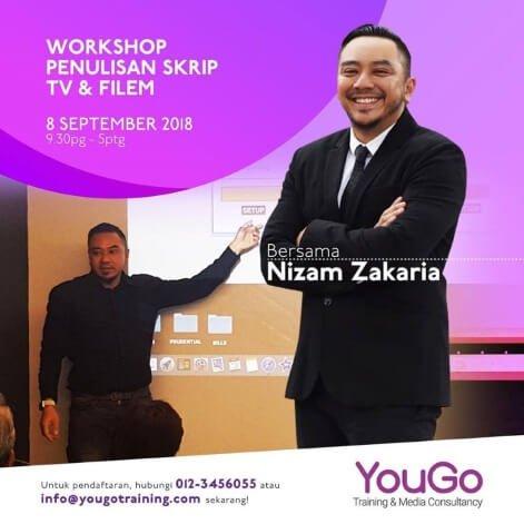 Workshop Penulisan Skrip Nizam Zakarian