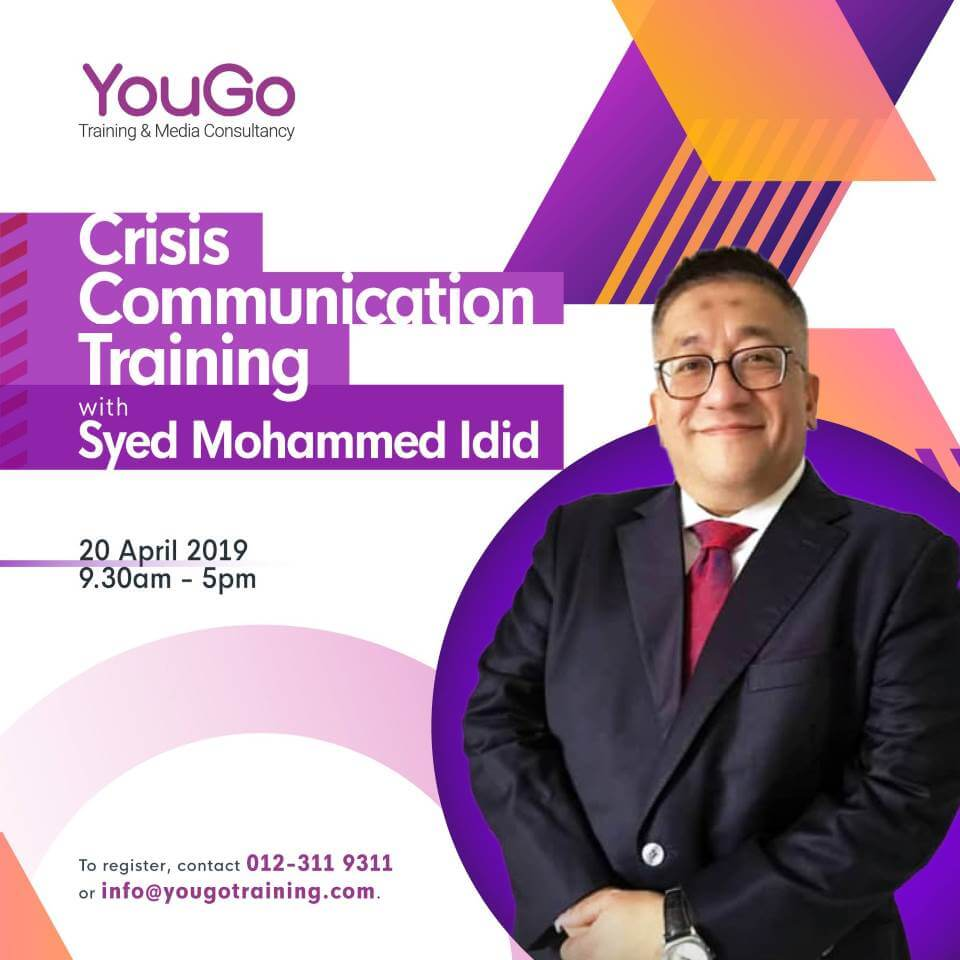 Crisis Communication Training with Syed Mohammed Idid