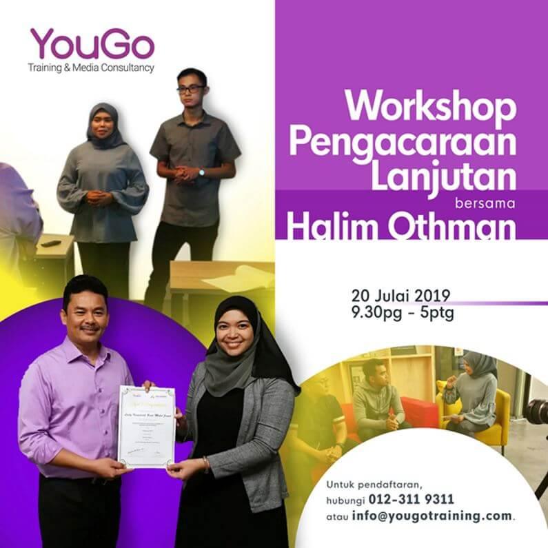 Workshop Pengacaraan Lanjutan Halim Othman 20190720