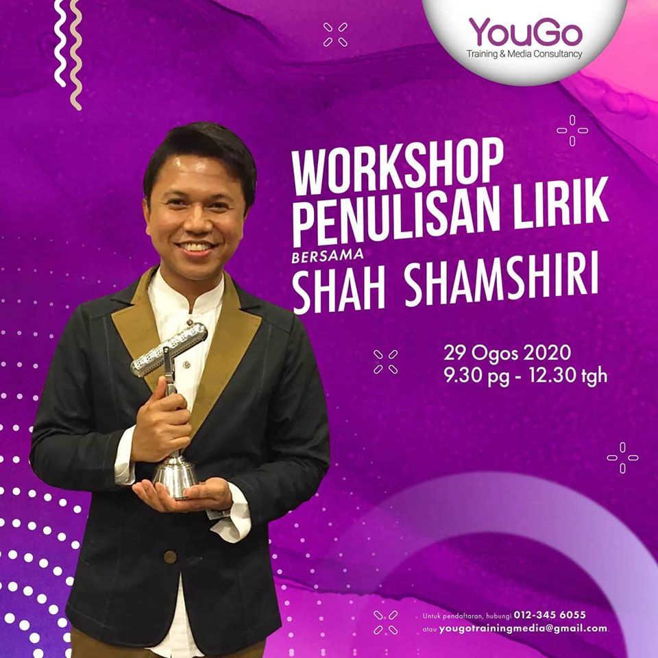 Workshop Penulisan Lirik Bersama Shah Shamshiri